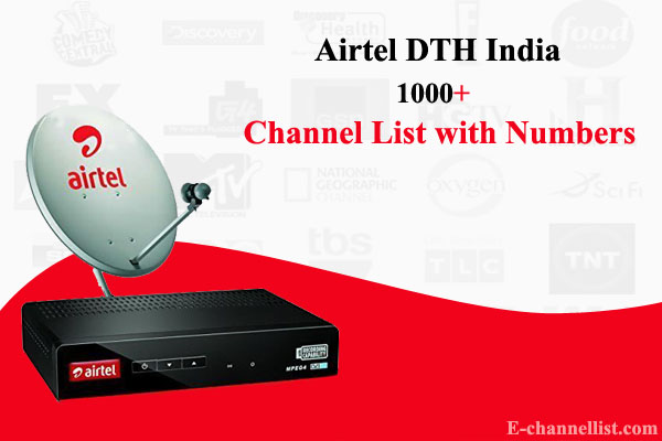 Airtel Channel Number List
