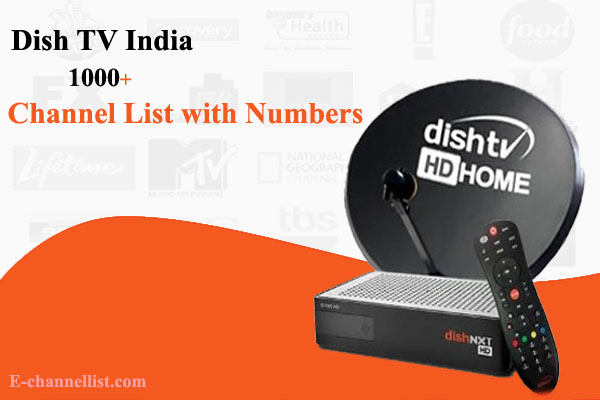 Dish TV Channel Number List