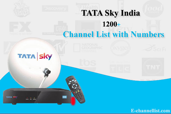 Tata Sky Channel Number List