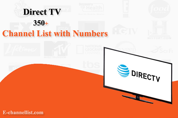 Direct TV Channel List with Number