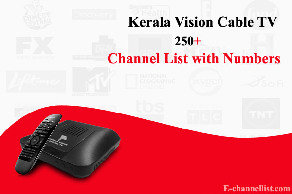 Kerala Vision Cable TV Channel List with Price, Number