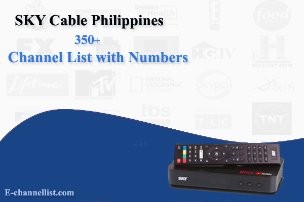 SKY Cable Philippines Channel List with Number