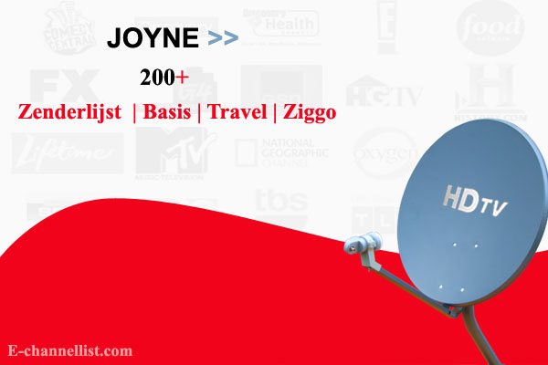 Joyne Zenderlijst, Basis, Travel Lite, Plus, Ziggo Sport Totaal