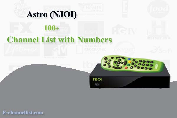 NJOI Astro Channel List