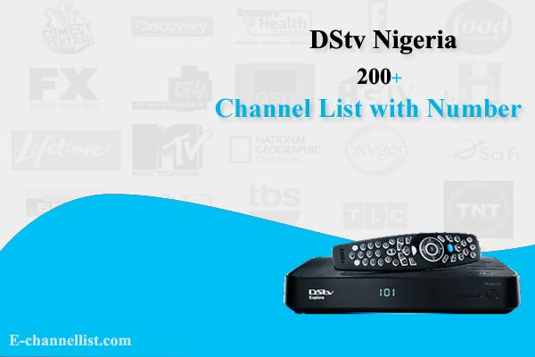 DSTV Nigeria Channel List with Number