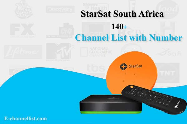 StarSat Channel List South Africa