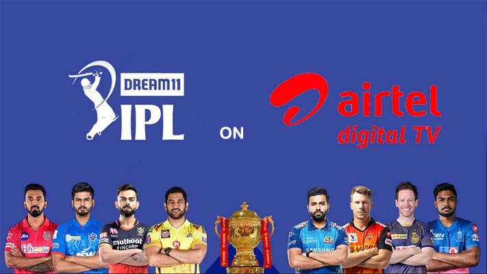 IPL live Airtel DTH Channel list with Number