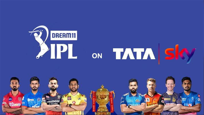 IPL live Tata Sky Channel List with Number