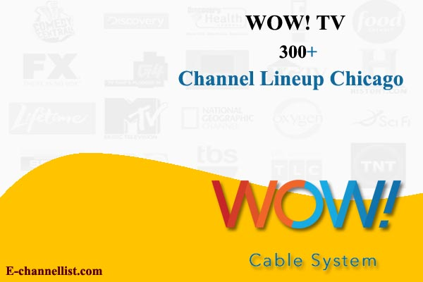 WOW Cable TV Channel Lineup Chicago