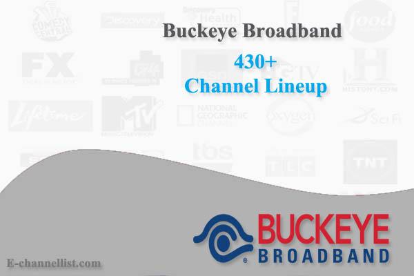 Buckeye Broadband Channel Lineup