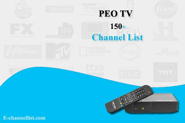 PEO TV Channel List with Number