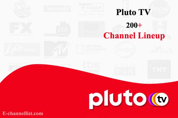 Pluto TV Channel Lineup