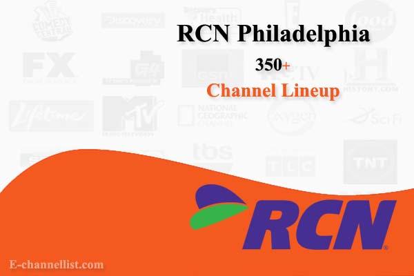 RCN Channel Lineup Philadelphia