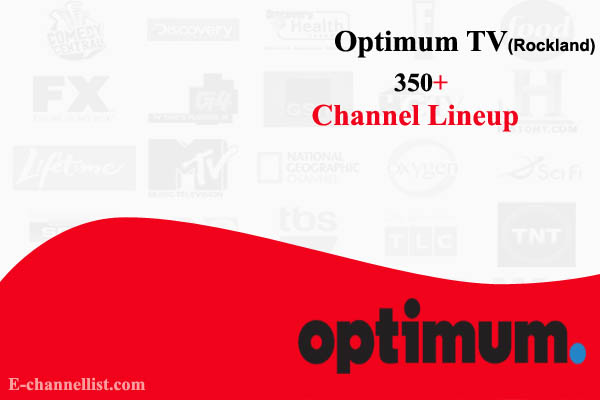 Optimum TV Channel Lineup Rockland County
