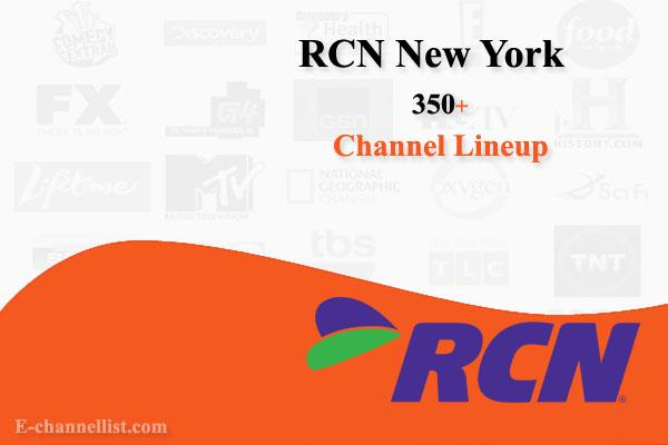 RCN Channel Lineup New York