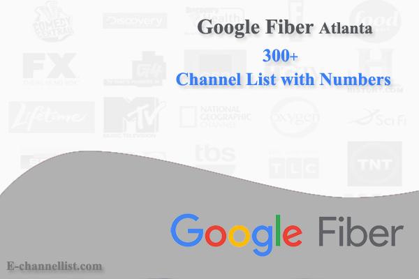 Google Fiber Channel Lineup Atlanta